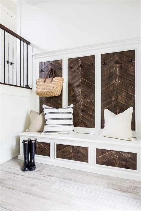 mudroom bench with hooks mudrooms entries on pinterest entryway mud rooms and