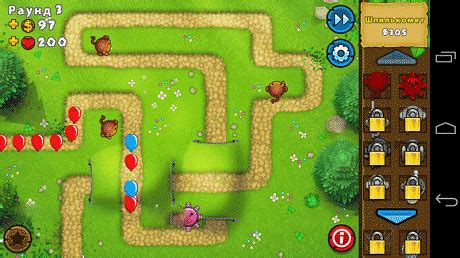 bloons td 5 apk mod bloons td 5 3 12 1 apk mod money unlocked data android