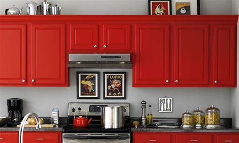 red kitchen paint colors ideas and pictures of kitchen paint colors