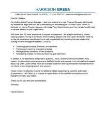 cover letter for it manager position best management cover letter exles livecareer