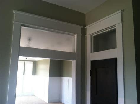 transom windows above interior doors stumped craftsman trim detail window transom