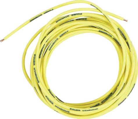 12 awg power wire 1930 2013 all makes all models parts 500809 yellow 12