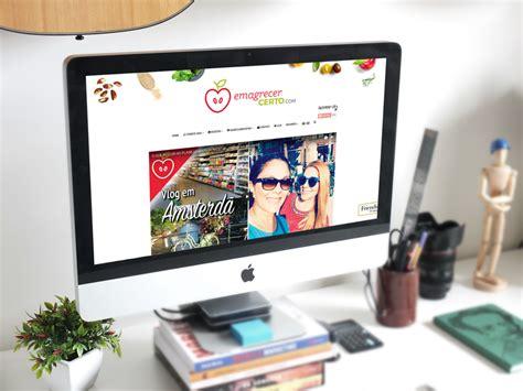 layout novo blog novo layout do blog emagrecer certo