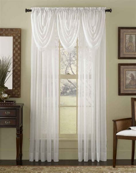 white curtain suitable for living room decobizz