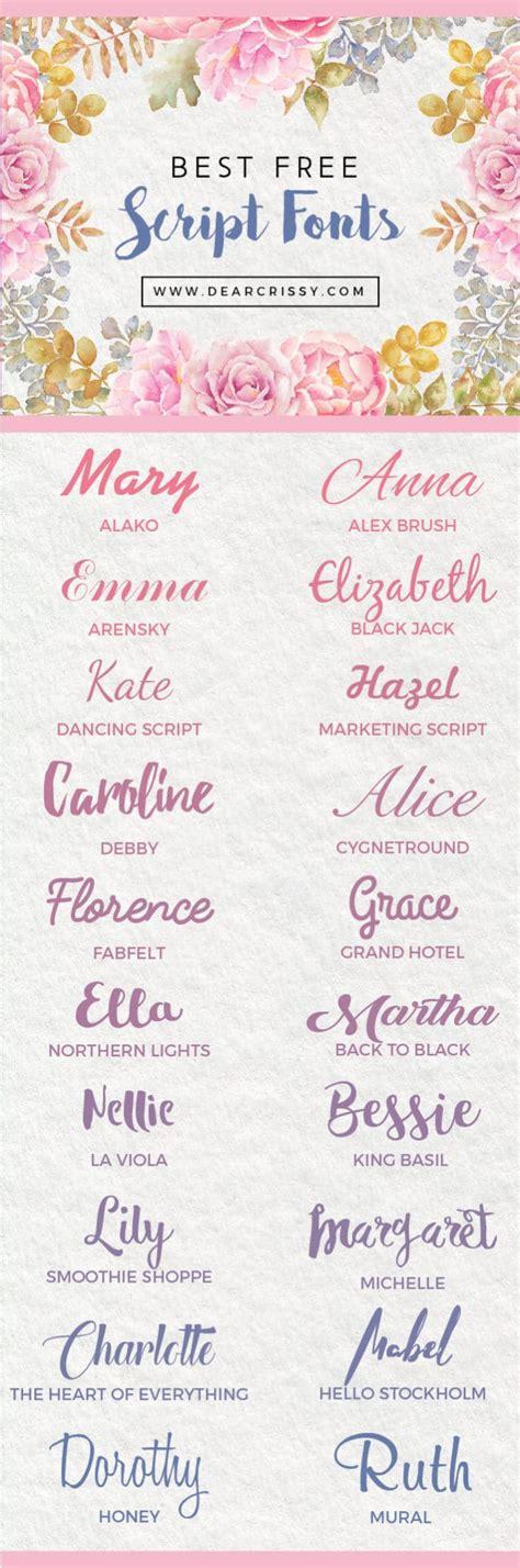 best script fonts best free script fonts free script fonts for instant