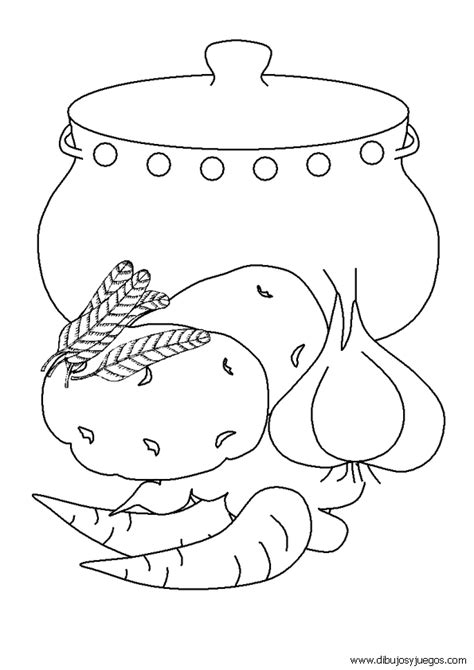 imagenes mayas para pintar dibujos de comida 009 dibujos y juegos para pintar y
