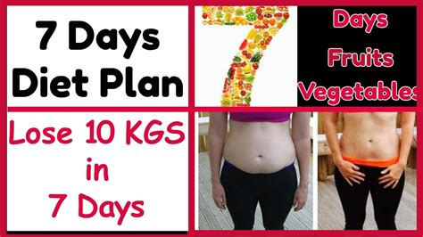 Friday How To Lose A In 10 Days by Lose 10kg In 7 Days Without Exercise 7 Days Weight Loss