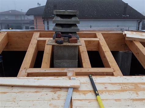 camino tetto civer snc 187 tetto ventilato in legno