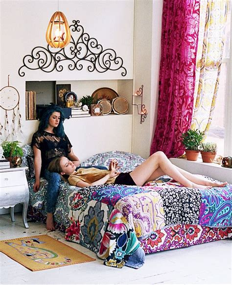 urban outfitters inspired bedroom you know how i feel about colorful prints love it