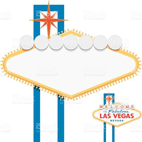 welcome to las vegas sign template blank las vegas sign stock vector 537890843 istock