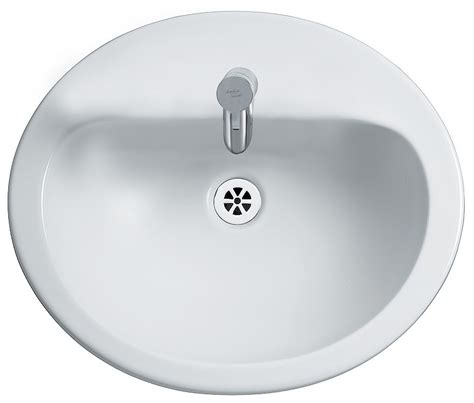Beautiful Modern Bathrooms - armitage shanks orbit 21 counter top 550mm 1 tap hole washbasin s248701