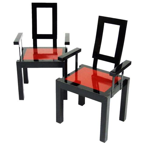 1980s furniture 1980s italian postmodernist memphis style chairs for sale