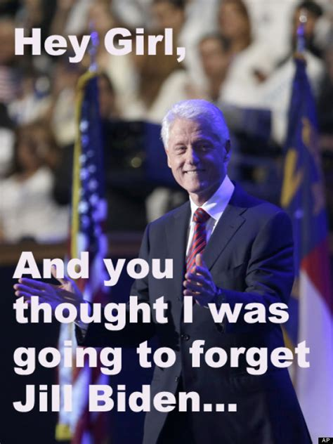 Bill Clinton Obama Meme - hey girl bill clinton not so humbly brags about his dnc