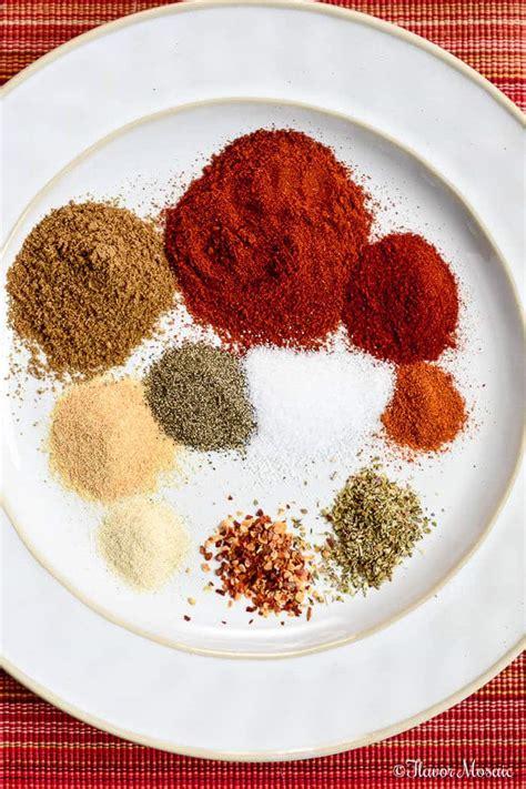 taco seasoning flavor mosaic