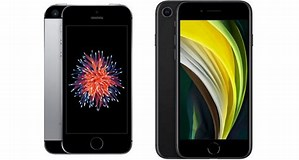 Image result for iPhone 5 vs SE 2020. Size: 299 x 160. Source: makethisappyours.com