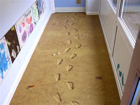 Make Floor by Floor That Looks Like Sand Modern House