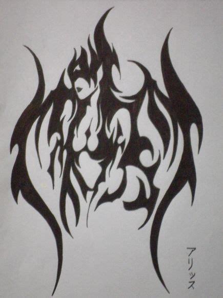 tribal demon woman missaliiice poeme et dessin cowblog