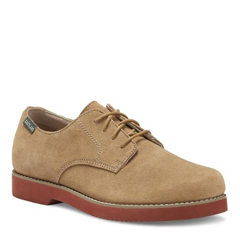 buck oxford shoes eastland s buck oxford taupe suede shoes 7680 ebay