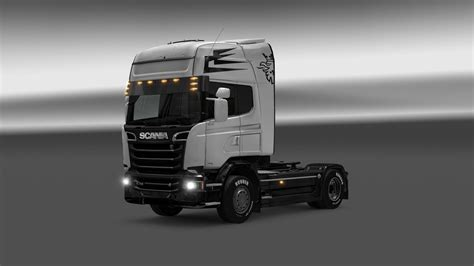 scania custom scania streamline custom bodypaint 1 22 skin truck