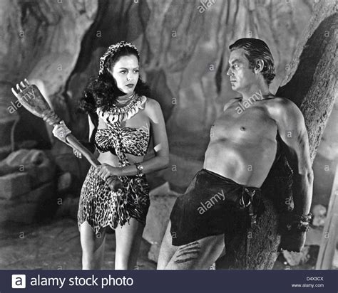 woman in the tarzan waterfall commercial tarzan and the leopard woman 1946 sol lesser productions