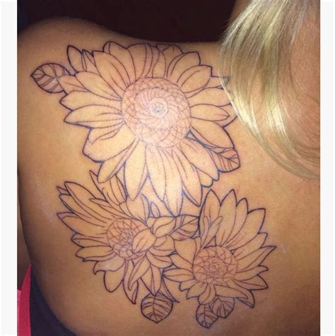 sunflower outline tattoo sunflower outlines www imgkid the image kid