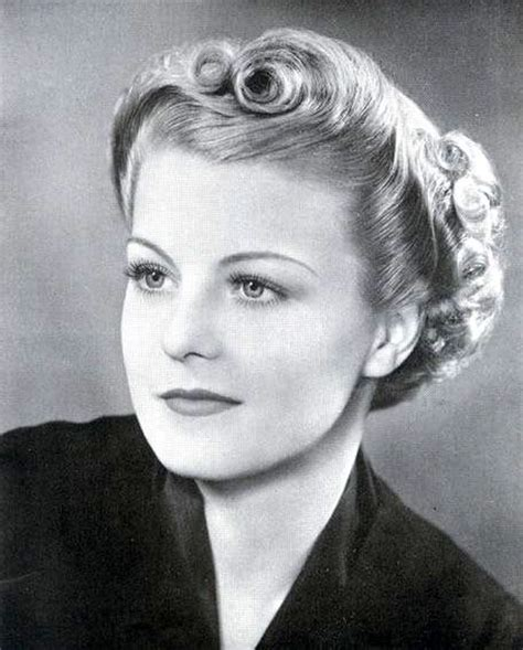 hairstyles of 1930s and 40s sleek and wavy characteristics defined the 1930s