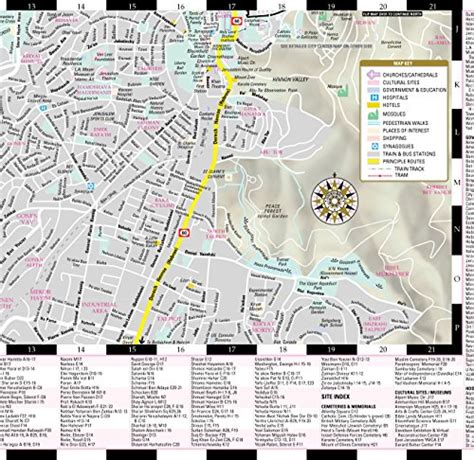 streetwise map laminated city center map of michelin streetwise maps books streetwise jerusalem map laminated city center
