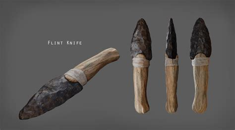 flint knives flint knife turnaround image abode in the crown mod db