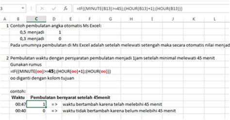 cara membuat general journal elektronik journal cara membuat pembulatan waktu pada excel
