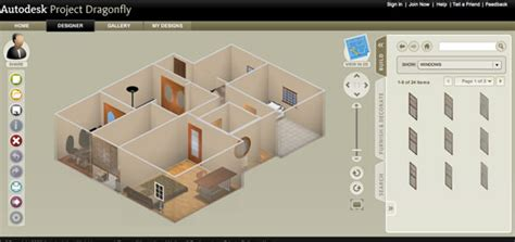 home design online autodesk autodesk dragonfly online home design software