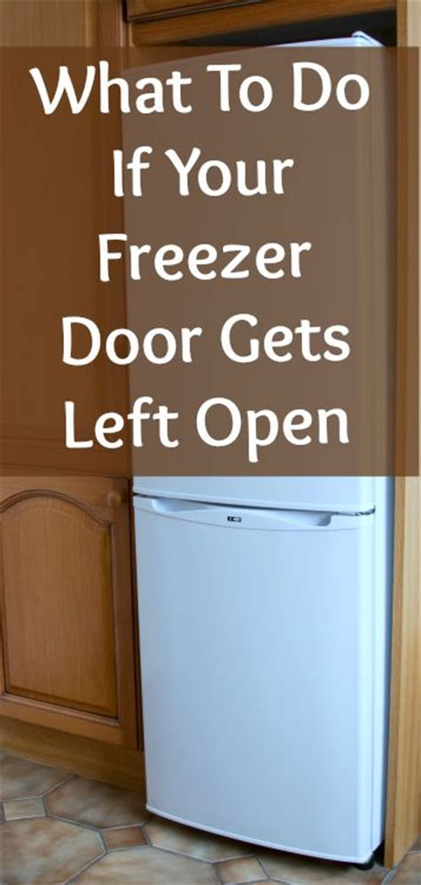 Refrigerator Door Left Open by The Freezer Was Left Open Now What Home Ec 101