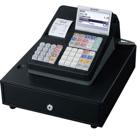 Mesin Kasir Sharp Xe A203 mesin kasir surabaya register sharp mesin kasir