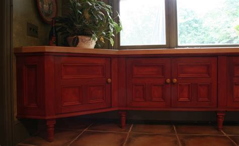 Pilaster Cabinetry Baseboard Detail