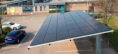 solar shelters turning car parks  carports