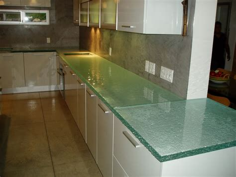 Glass Kitchen Countertops Fusion Glass Countertop Custom