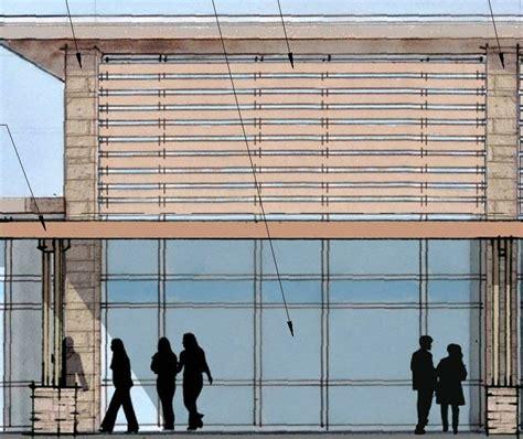 horizontal curtain wall revit revitcity com curtain wall with wood slats