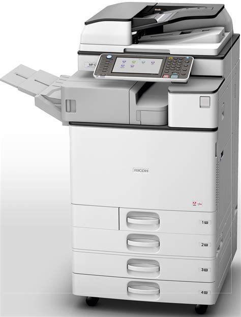 color copier ricoh aficio mp c2003 multifunction color copier copyfaxes