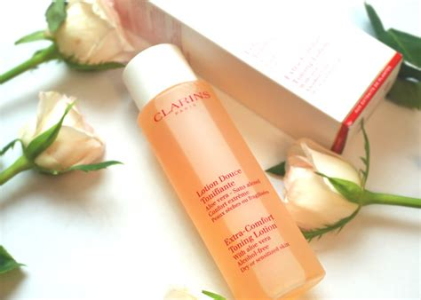 clarins extra comfort toning lotion clarins skin care for dry skin toner blue orchid face