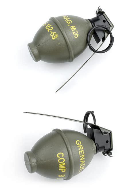 Dummy Replika M26 Frag Grenade ebairsoft airsoft parts tactical gear h minghui dummy m26 frag grenade tmc0597