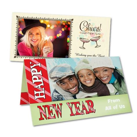 Personalized New Years Cards