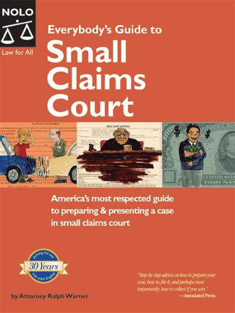 everybody s guide to small claims court the