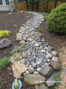 River Rock Garden Bed Pink And Green Diy Backyard Makeover On A Budget With Help From Hgtvgardens