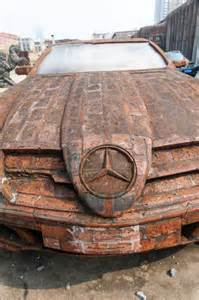 Where Are Mercedes Manufactured Artist Dai Yun Uses Bricks To Build Peculiar Looking