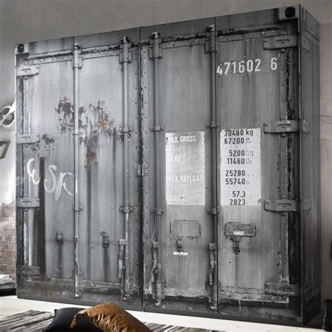 kleiderschrank container kleiderschrank josh container optik 4 t 252 ren b 237 cm