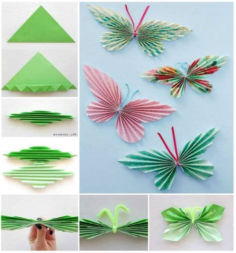 Make Paper Butterflies - how to make butterflies out of cupcake liners diy