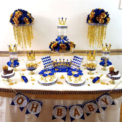 Royal Prince Themed Baby Shower Wholesale by Royal Prince Baby Shower Buffet Centerpiece Oh Baby