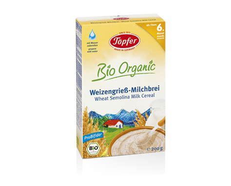 Topfer Wheat Semolina Milk Cereal babynahrung und babypflege aus der natur t 246 pfer babywelt