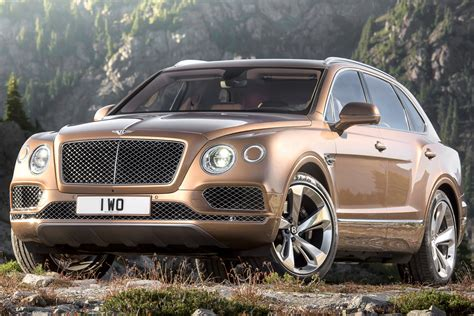 bentley bentayga suv video official pictures  specs carbuyer