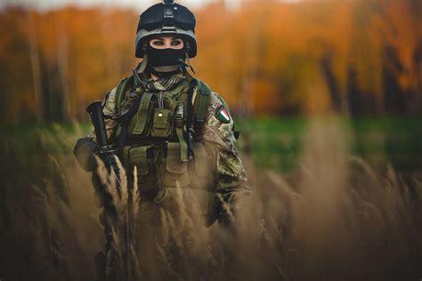 wallpaper girl military army meh ro