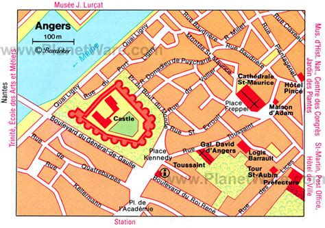 angers map 20 top tourist attractions in the loire valley